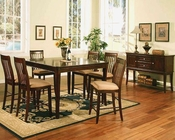 Winners Only Topaz Cherry Counter Height Dining Set WO-DTTC25454s