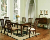 Winners Only Topaz Cherry Dining Room Set WO-DTC24278s