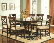 Winners Only Topaz Cherry Dining Room Set WO-DTC24866s