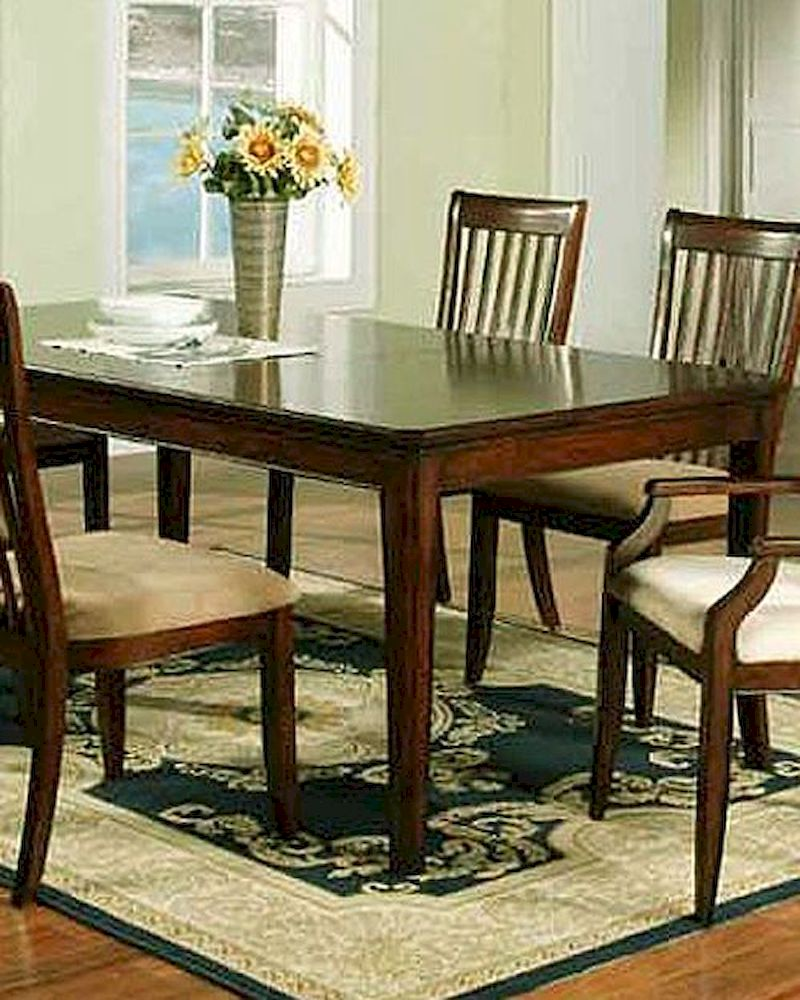 winners only topaz cherry dining table wo dtc24278 cherry di