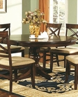 Winners Only Topaz Cherry Oval Dining Table WO-DTC24866