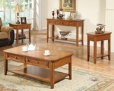 Winners Only Topaz Cinnamon Coffee Table Set WO-AT100Cs