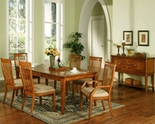 Winners Only Topaz Cinnamon Dining Room Set WO-DT24278s