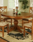 Winners Only Topaz Cinnamon Oval Dining Table WO-DT24866