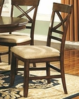 Winners Only Topaz X Back Dining Side Chair WO-DTC2451S (Set of 2)