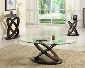 Wood Base Coffee Table Set Firth by Homelegance EL-3401W-30-SET