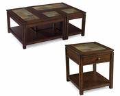 Wood Coffee Table Set Gemini by Magnussen MG-T3040SET