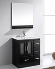 Zola 30in Single Bathroom Set in Espresso by Virtu USA VU-MS-6730-ES