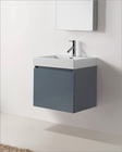 Zuri Grey 24in Single Bathroom Vanity by Virtu USA VU-JS-50324-GR-PRT