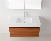 Zuri Plum 39in Single Bathroom Vanity by Virtu USA VU-JS-50339-PL-PRT