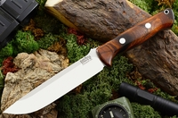 Bark River Knives: Bravo-1.5 A2 Steel Fixed Blade Survival / Bushcraft / Military / Tactical / Utility / Outdoor / Fighting / Collector Knife w/ Desert Ironwood Handle - #5