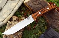 Bark River Knives: Bravo-1.5 CPM 3V Steel Fixed Blade Survival / Bushcraft / Military / Tactical / Utility / Outdoor / Fighting / Collector Knife w/ Desert Ironwood Handle - #2