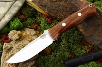 Bark River Knives: Bravo-1 CPM 3V Steel Fixed Blade Survival / Bushcraft / Military / Tactical / Fighting / Outdoor / Hunting / Collector Knife w/ Cocobolo Handle - 1-1