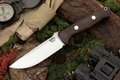 Bark River Knives: Bravo-1 LT CPM 3V Steel Fixed Blade Survival / Bushcraft / Military / Tactical / Fighting / Outdoor / Hunting / Collector Knife w/ African Blackwood Handle