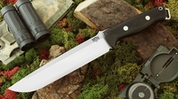 Bark River Knives: Bravo-2, A2 Steel, Fixed Blade Survival / Bushcraft / Military / Tactical / Utility / Fighting / Collector Knife w/ Black G10 Handle