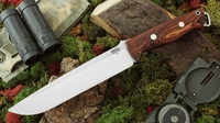 Bark River Knives: Bravo-2, A2 Steel, Fixed Blade Survival / Bushcraft / Military / Tactical / Utility / Fighting / Collector Knife w/ Cocobolo Handle - 2