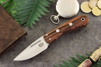 Bark River Knives: Essential EDC (Without Bolster) Fixed Blade Every Day Carry / General Purpose / Personal Protection / Collector / Hunting Knife w/ Cocobolo Handle - 4