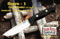 Bravo 1 Rampless Field Knife A2 Steel