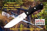 Classic Drop Point Hunter (Loveless Style) - CPM 154 Stainless Steel - Long Bolster
