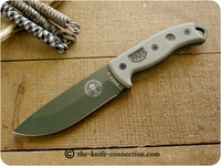 ESEE Knives: 5P KNIFE ONLY, Green