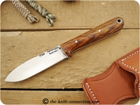 Lon Humphrey Custom Kephart (Flat Grind) Fixed Blade, Bushcraft / Hunting / General Purpose / Utility / Collector Knife w/ Cocobolo Handle