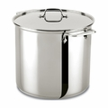 All-Clad 16 Qt. Stockpot w/Lid - E9076474