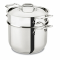 All-Clad 6 Qt Pasta Pot - E414S664