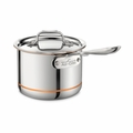 All-Clad Copper Core 2 Qt. Sauce Pan w/Lid - 6202SS