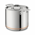 All-Clad Copper Core 7 Qt. Stockpot w/Lid - 6507SS