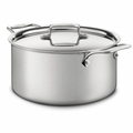All-Clad d5 Brushed Stainless 8 Qt. Stockpot w/Lid - BD55508