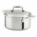 All-Clad d7 Stainless 3.5 Qt Round Oven w/Domed Lid - SD75303.56