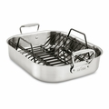 "All-Clad Gourmet Accessories 13"" x 16"" Large Roaster w/Rack - E752C264"