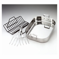 All-Clad Large Roti Combo w/Rack & Turkey Forks - 501631