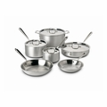 All-Clad Master Chef 2 - 10-Pc Cookware Set - 700508