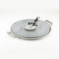 All-Clad Pizza Baker w/Serving Tray & Pizza Cutter - 00280
