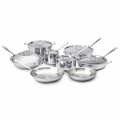 All-Clad Stainless Steel 14-Pc Cookware Set - 401716