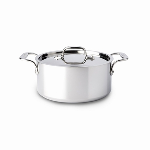 All-Clad Stainless Steel 3 Qt. Casserole w/Lid - 4303