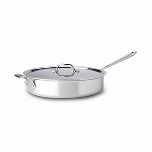 All-Clad Stainless Steel 5 Qt. Saute Pan w/Lid - 4405