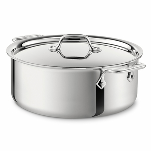 All-Clad Stainless Steel 6 Qt. Stockpot w/Lid - 4506