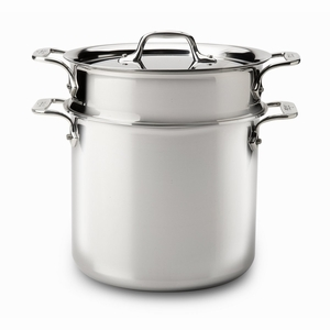 All-Clad Stainless Steel 7 Qt. Pasta Pentola w/Lid & Insert - 4807