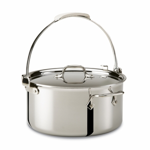 All-Clad Stainless Steel 8 Qt. Stockpot w/Lid - 4508