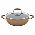 Anolon Advanced Bronze Collection - 3.5 Qt. Covered Chef's Casserole - 83489