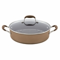 Anolon Advanced Bronze Collection - 5.5 Qt. Covered Braiser w/Rack - 83490