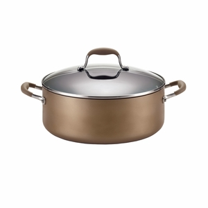 Anolon Advanced Bronze Collection - 7.5 Qt. Covered Wide Stockpot - 82795