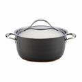 Anolon Nouvelle Copper - 5 Qt. Covered Dutch Oven  - 82946