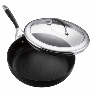 "Circulon Elite - 12"" Covered Deep Skillet - 80362"