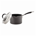 Circulon Momentum - 2 Qt. Covered Nonstick Straining Saucepan w/Pour Spouts - 83738