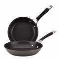 "Circulon Momentum - Twin Pack: 8-1/2"" & 10"" Nonstick French Skillets - 83737"
