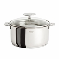 Cristel Casteline Removable Handle - 3.5 Qt Saucepan w/Lid - C20QMPKP