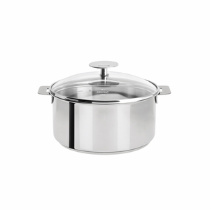 Cristel Mutine Removable Handle - 1 Qt Saucepan w/Lid - C14PK